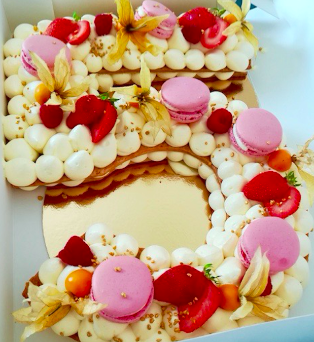 Letter Number Cake | S Lorentz Toulouse