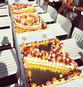 Letter Cake Mariage